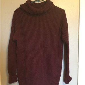 Beautiful plum sweater